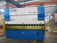 Hot-sale ZDP-10032 (WC67Y-100/3200) ZDMT Brand Hydraulic Plate Press Brake