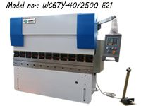ZDP-4025 (WC67Y-40/2500) Small Press Brake Machine with E21 NC