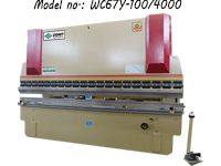 ZDP-10040 (WC67Y-100/4000) Manual Plate Press Brake