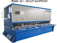 ZDS-2540 (QC12Y-25X4000) Sheet Plate Shearing Machine