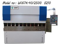 Sheet Metal CNC Press Brake ZDPK-4025 (WC67K-40/2500)