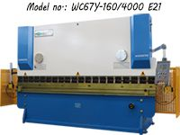 160t4000mm Hydraulic Press Brake