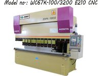 Water Channel Bending Machine with E210 CNC