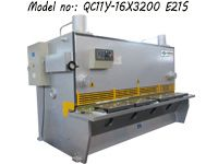 ZDG-1632 (QC11Y-16X3200) Hydraulic Guillotine Shearing Machine