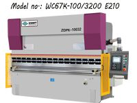 WC67K Hydraulic CNC Press Brake Machine