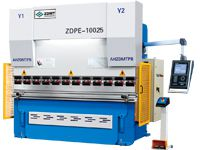 100T/2500 Hydraulic CNC Press Brake Machine