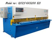 6*3200mm Hydraulic Swing Beam Shearing Machine