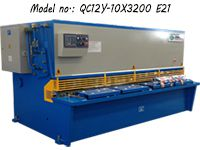 10*3200 Swing Beam Shear