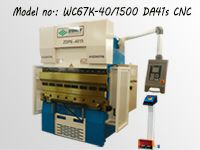 Small CNC Press Brake with DA41s Controller
