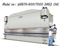 Heavy Duty Press Brake Machine / Bending Machine