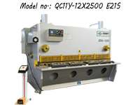 12mm Hydraulic Guillotine Shear Machine