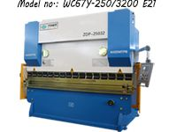 250T Hydraulic Press Brake Machine