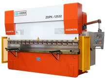 ZDMT Hydraulic CNC Press Brake with E200P CNC Controller ZDPK-12532 (WC67K-125/3200)