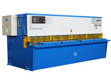 ZDS-432 Hydraulic Shearing Machine / QC12Y-4*3200 Metal Sheet Cutting Machine