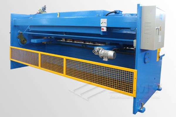 Hydraulic swing beam shearing machine ZDS-632/QC12Y-6x3200