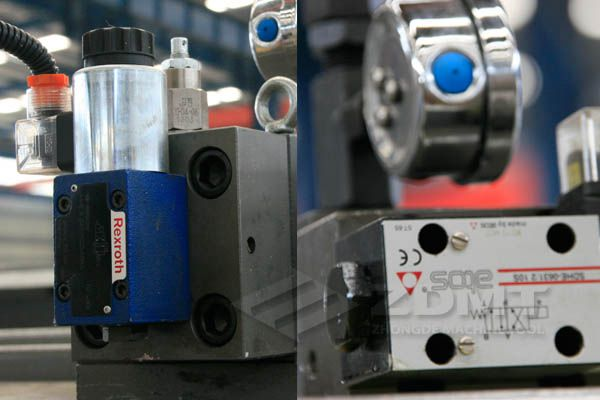 rexroth or atos hydraulics as options